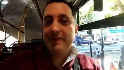 #RicoyCharladito En Londres Desde un bus de dos pisos