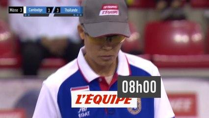 Trophée L'Equipe - Individuel Femmes - 1e Demi-finale - Pétanque - Replay