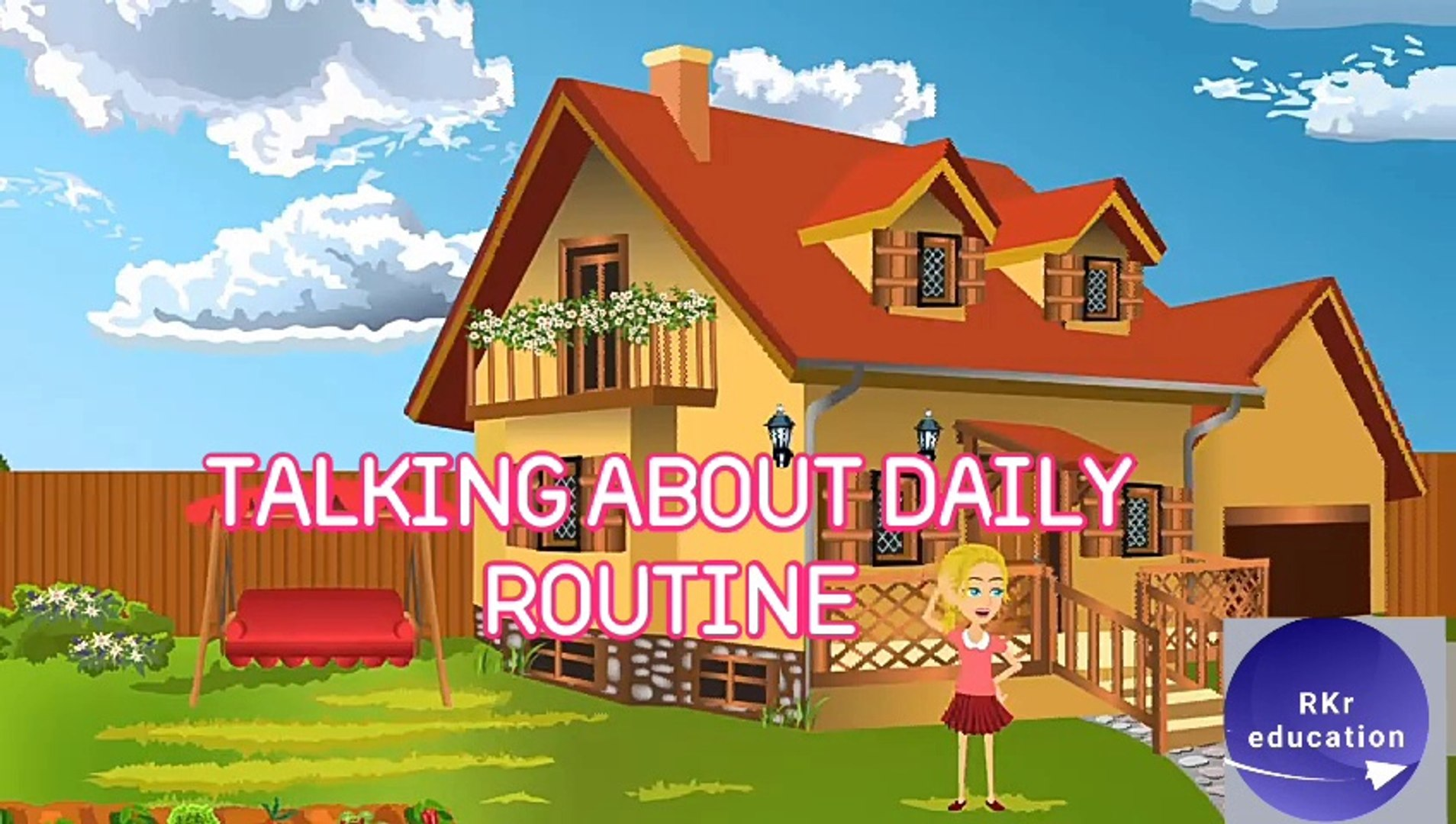 Talking about daily routine in English! Spoken English