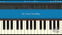 Surf Mesa - ily (i love you baby) (feat. Emilee) (Piano Tutorial Synthesia)