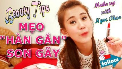 Beauty Tips #1 | Mẹo Làm Đẹp Siêu Tiện Lợi - Từ Cạo Lông đến Gắn Son Gãy | Ngọc Thảo Official | Lady9