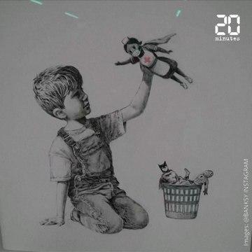 Coronavirus: La dernière œuvre de Banksy rend hommage aux personnels soignants