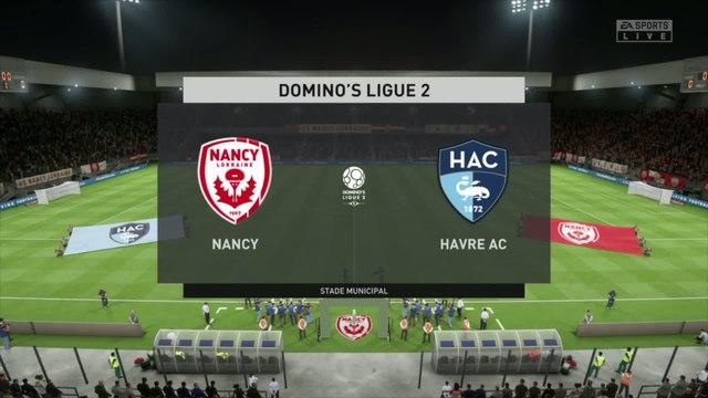 AS Nancy-Lorraine - Le Havre FC : notre simulation FIFA 20 (L2 - 31e journée)