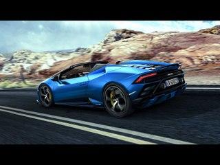 Voici la Lamborghini Huracan Evo RWD Spyder (2020)