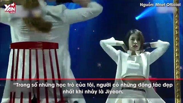 Bỏ qua cả dàn dancer đỉnh nhất thế hệ 3, biên đạo nổi tiếng chỉ dành lời khen cho mình Jiyeon về khoản nhảy nhót.