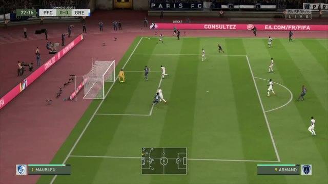 Paris FC - Grenoble Foot 38 : notre simulation FIFA 20 (L2 - 31e journée)