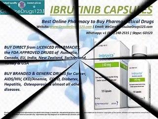 Buy Ibrutinib Capsules Online