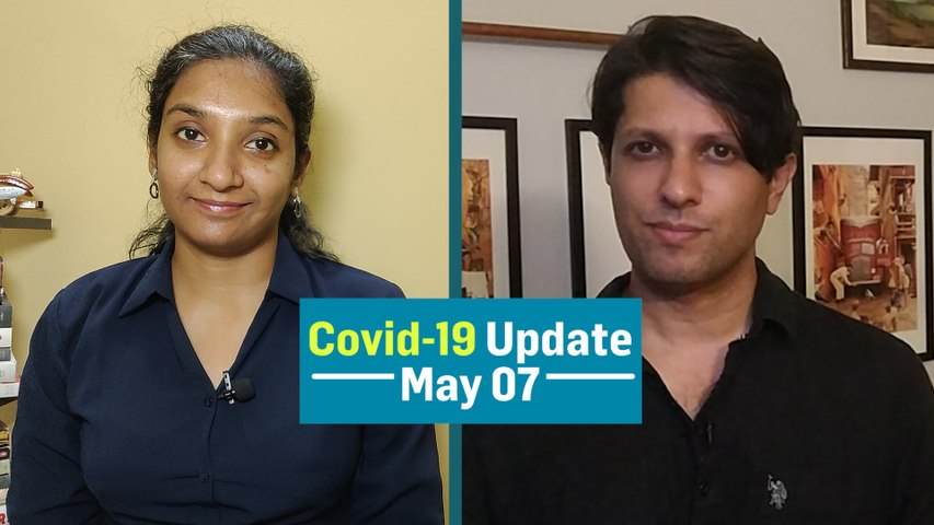 Coronavirus Daily Bulletin:  64 repatriation flights land in India on May 7