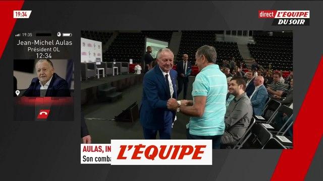 Jean-Michel Aulas aurait préféré « le mérite sportif plutôt qu'une solution juridique » - Foot - L1