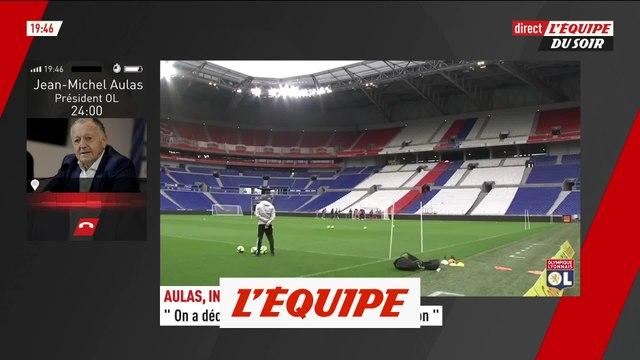 Jean-Michel Aulas : « J'en veux terriblement à Jacques-Henri Eyraud » - Foot - L1
