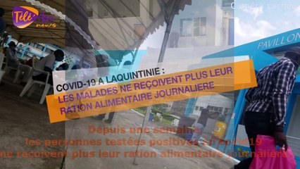Hôpital Laquintinie: Depuis 10 jours, les personnes testées positives au #covid19 ne reçoivent plus leur ration alimentaire journalière