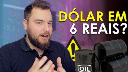• 05 » Dólar a R$ 6 RENDE MEMES, E VAI CHEGAR A 7!     ⋰ #COnTV