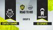 CSGO - G2 Esports vs. c0ntact gaming [Mirage] Map 1 - ESL One Road to Rio - Group B - EU