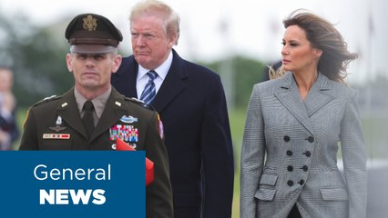 VE Day- Trump marks 75th anniversary of Germany-s surrender in WWII