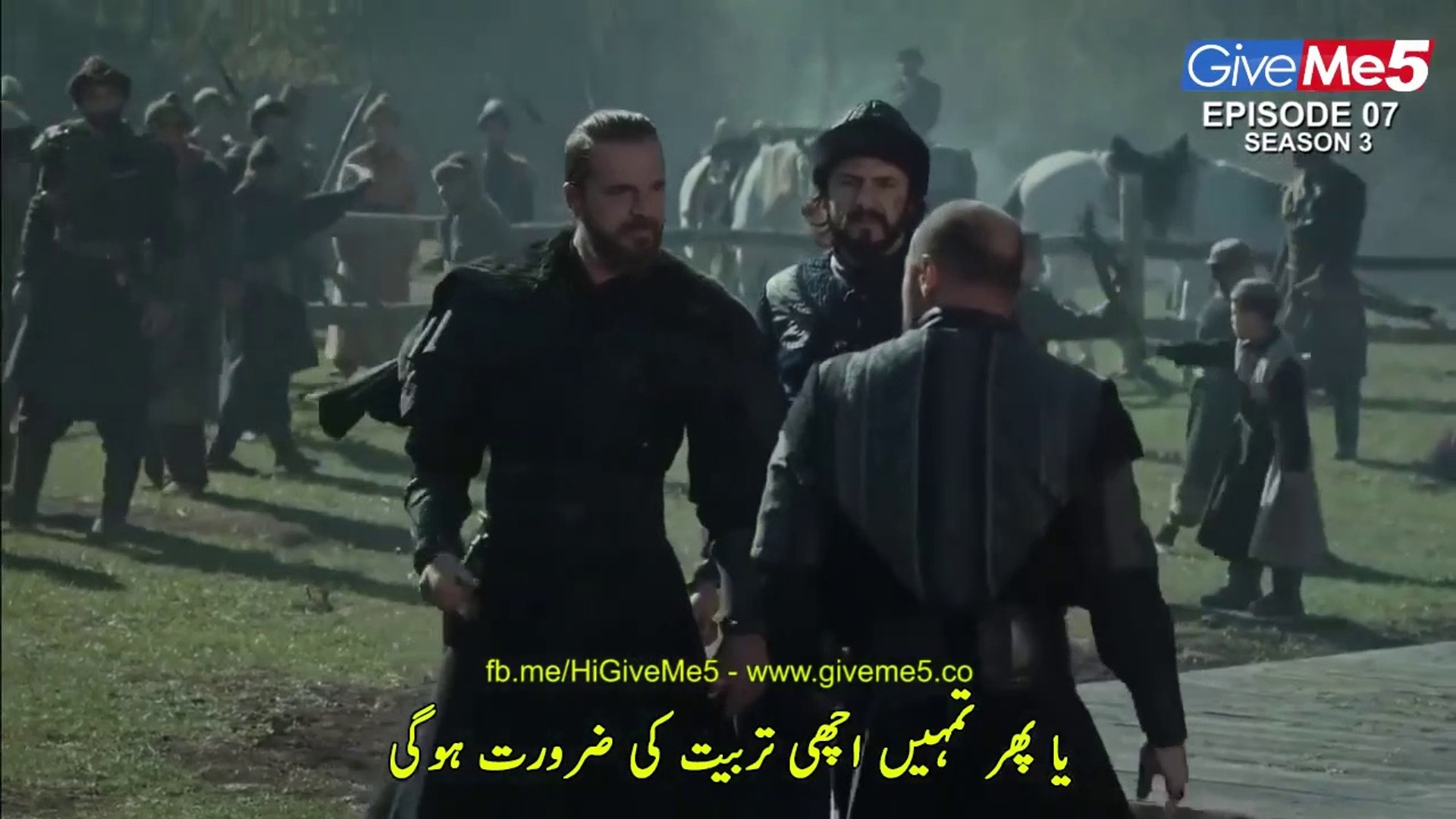 Dirilis Ertugrul Season 3 Episode 7 Urdu Dubbed Turkish TV Drama Watch Online