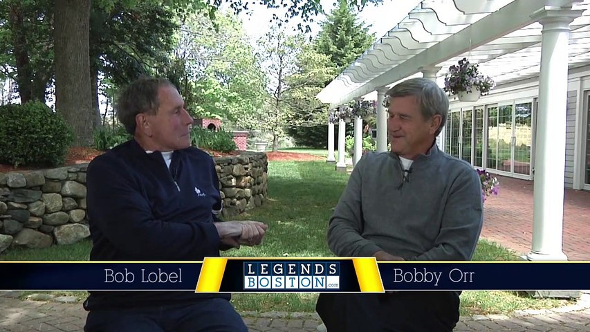 Bobby Orr Legends Boston Interview - Bruins, Stanley Cup, book and more.