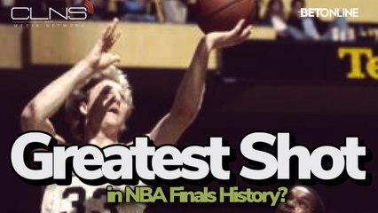 Larry Bird Hits Arguably the Best Shot in NBA Finals History in 1981- Celtics vs Rockets