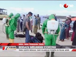 Terpapar Corona, 18 Santri Dikarantina di Kabupaten Sikka