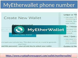 Unable to find MyEtherWallet support account customer service number