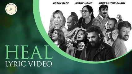 HEAL | Gopi Sundar | BK Harinarayanan | Lyric Video