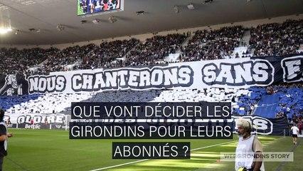 Abonnements aux Girondins : remboursement, avoir ou don ?