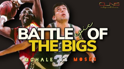 Kevin McHale & Moses Malone  THROW DOWN in Head to Head DUEL!