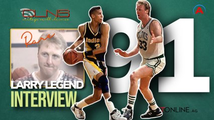 Larry Bird Interview Day After Celtics' Epic Series Clincher vs Pacers in 1991 - RARE