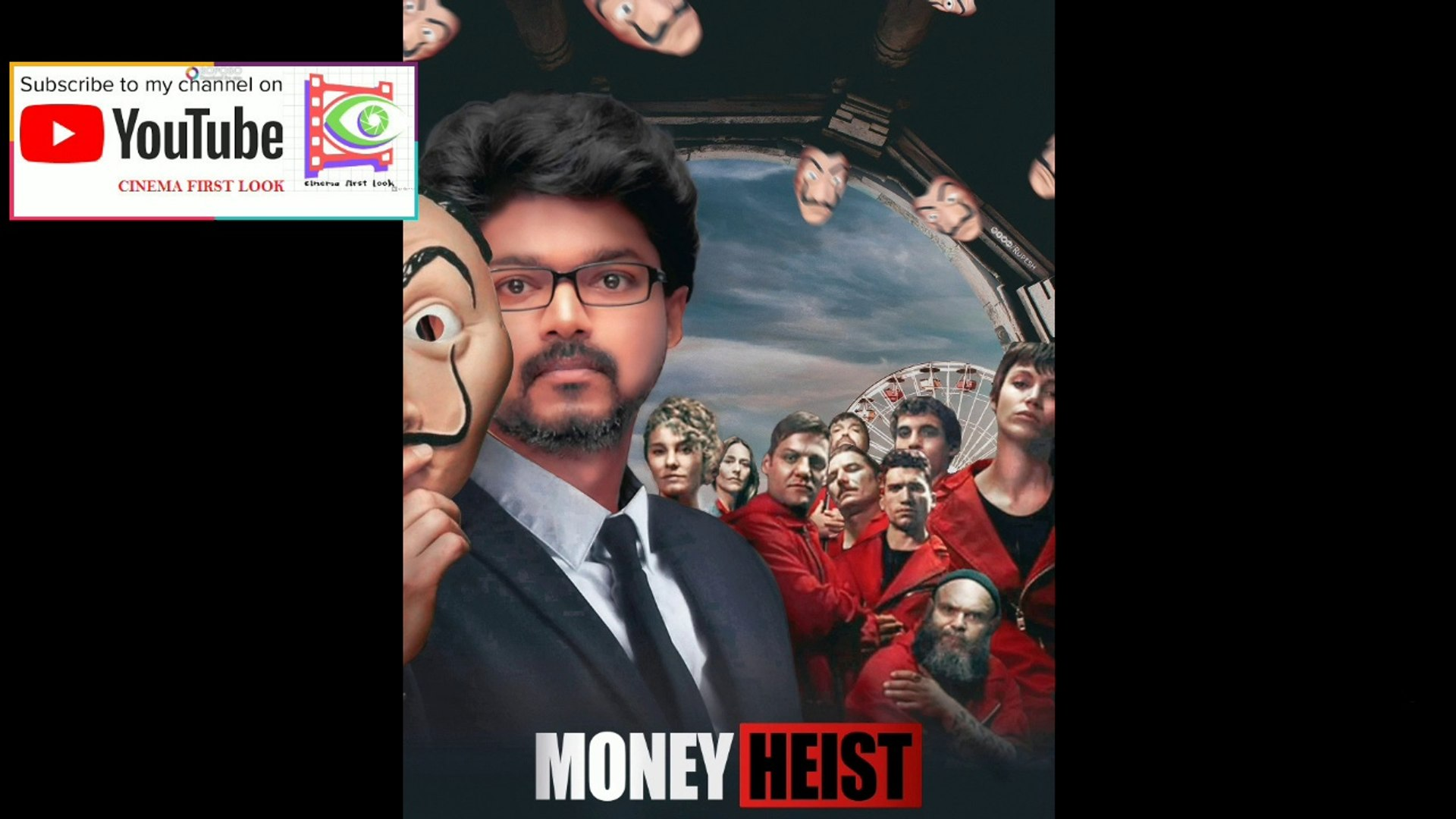 விஜய் யின் Money Heist |Tamil trailer|#vijay#moneyheist #tamilvideo#Kollywood #cinemafirstlook_tamil