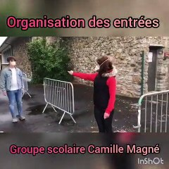 Organisation groupe scolaire Camille Magné