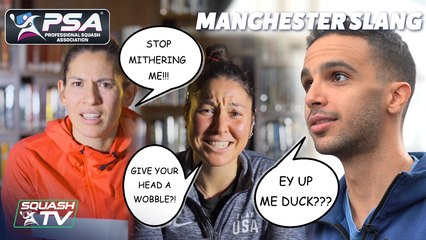 PSA Stars try out Manchester Slang
