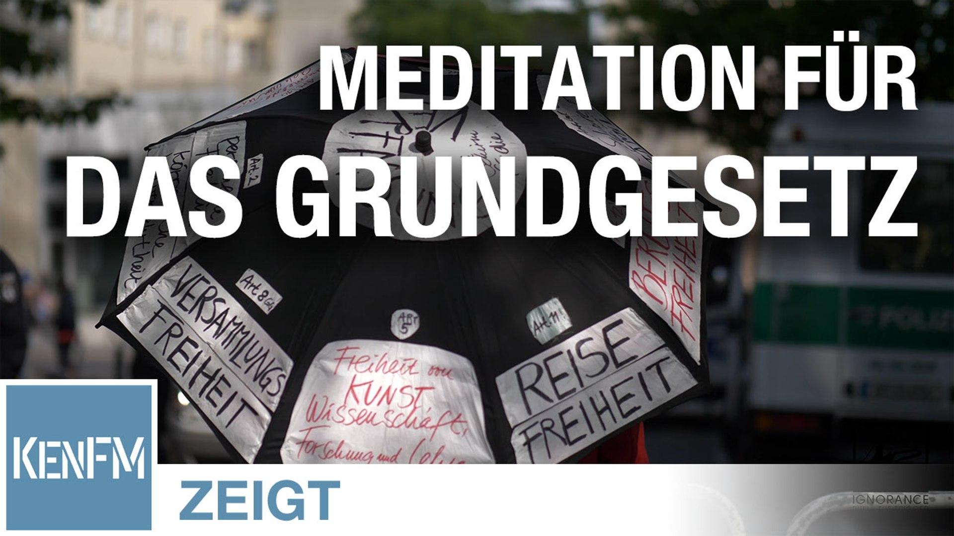 Ignorance Meditation am 9. Mai 2020 in Berlin