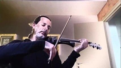 "Ermanno Corrado - stunning violin improvisation on ""Spain"" by Chick Corea (Italian Music Video)"