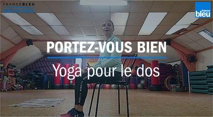 Portez-vous bien : prenez soin de votre dos avec du yoga assis