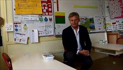Arnaud Tanquerel, vice-président de Bayeux Intercom s'exprime sur la reprise de l'école mardi 12 mai 2020