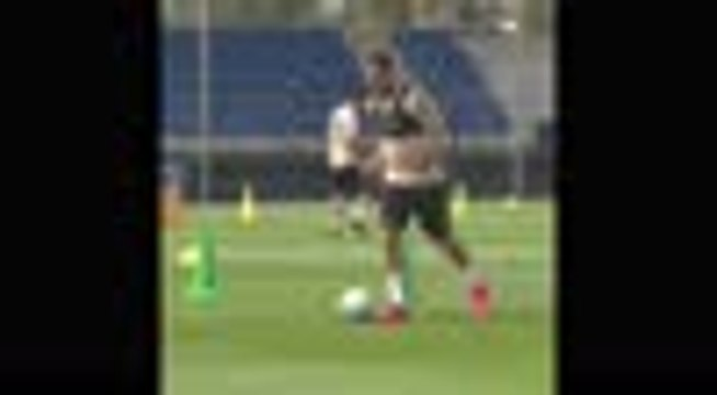 Les joueurs du Real Madrid de retour à l'entraînement