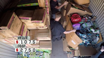 Storage Wars: Darrell Triples His Profits   A&E