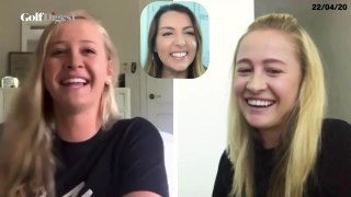 Catching Up With Nelly and Jessica Korda
