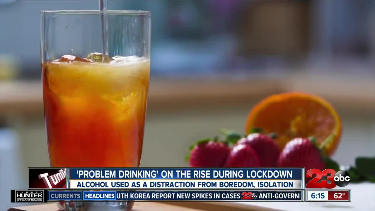 'Problem drinking' on the rise during the lockdown