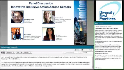 Global Member Conference Panel Discussion April 2020