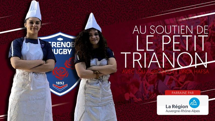 Rugby : Video - Linda Hafsa et Lou Agriodos au soutien du Petit Trianon