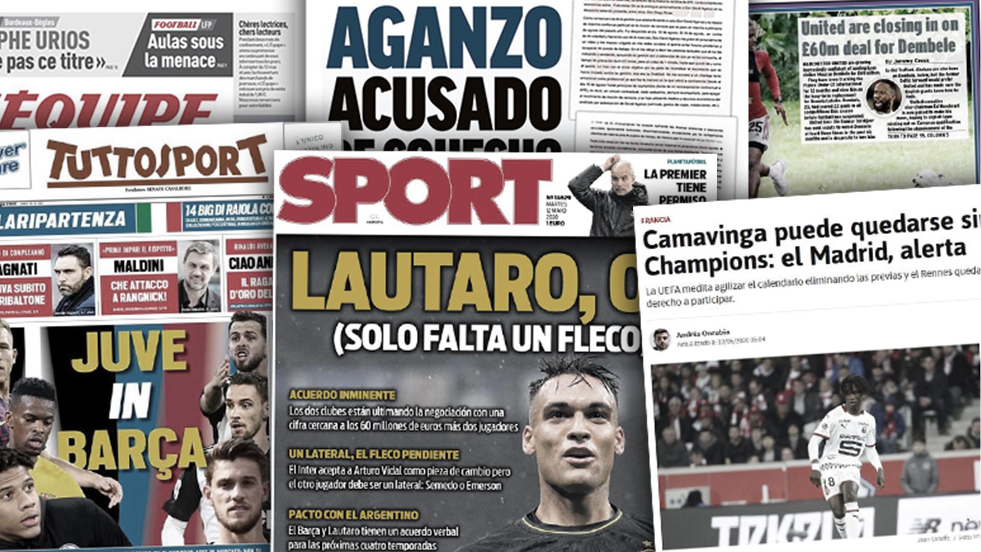 Le Real Madrid en alerte pour Eduardo Camavinga, Manchester United tout proche de signer Moussa Dembélé