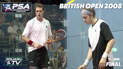 On This Day: Palmer v Willstrop - British Open 2008 Final Highlights