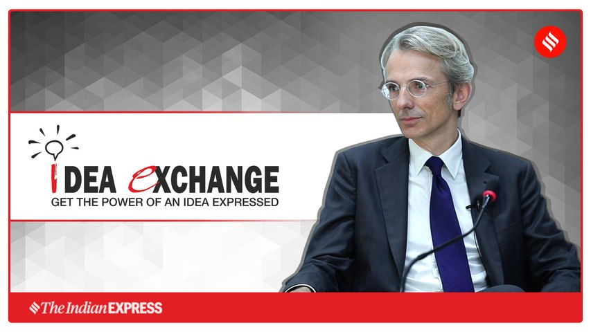 Idea Exchange with Ambassador of France to India Emmanuel Lenain