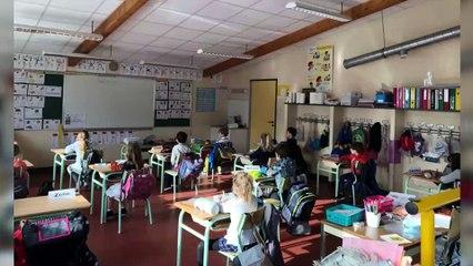 Déconfinement : la rentrée des classes à l'école Sainte Marie de Saint-Nazaire