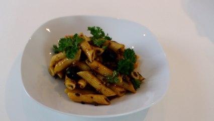 Pasta alla Puttanesca | Bimby TM6 TM5 TM31 Thermomix