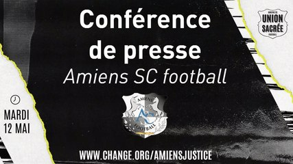 Conférence de presse Amiens SC du Mardi 12 Mai 2020