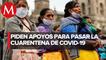 Artesanos indígenas exigen apoyos para enfrentar confinamiento por covid-19