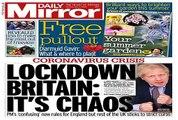 UK PM Boris Johnson's new 'stay alert' coronavirus warning criticized as 'confused' and 'nonsensic