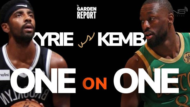 KYRIE Challenges KEMBA to a Game of ONE on ONE
