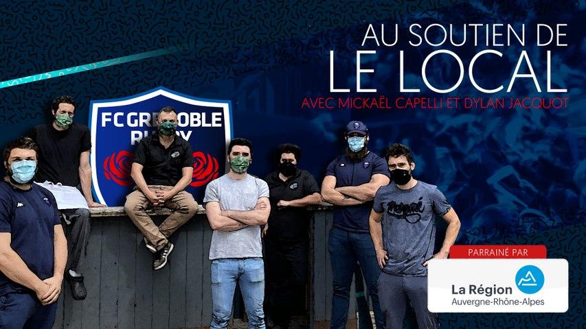 Rugby : Video - Mickaël Capelli et Dylan Jacquot au soutien du Local